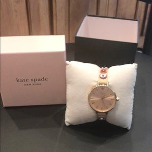 NEW in box Kate Spade rose gold watch